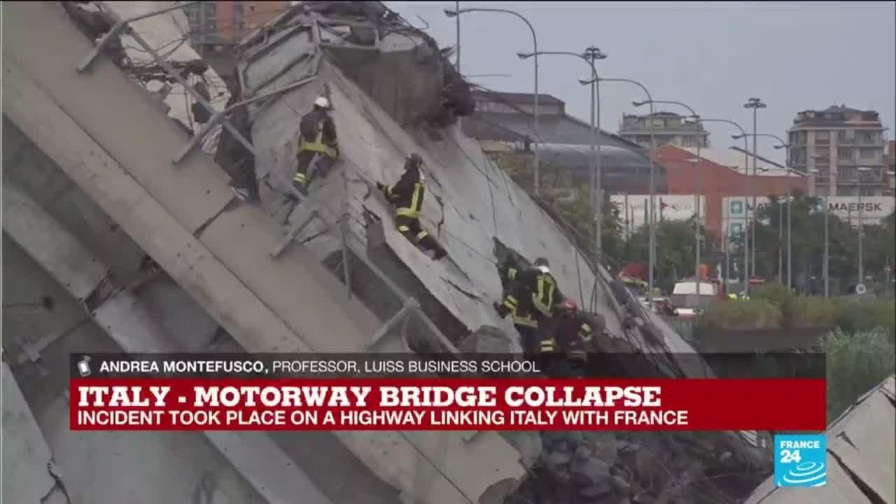 فرانس 24:What caused the motorway bridge collapse in Italy?