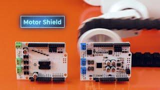 Motor Shield — подключаем моторы и шаговики к Arduino. Железки Амперки