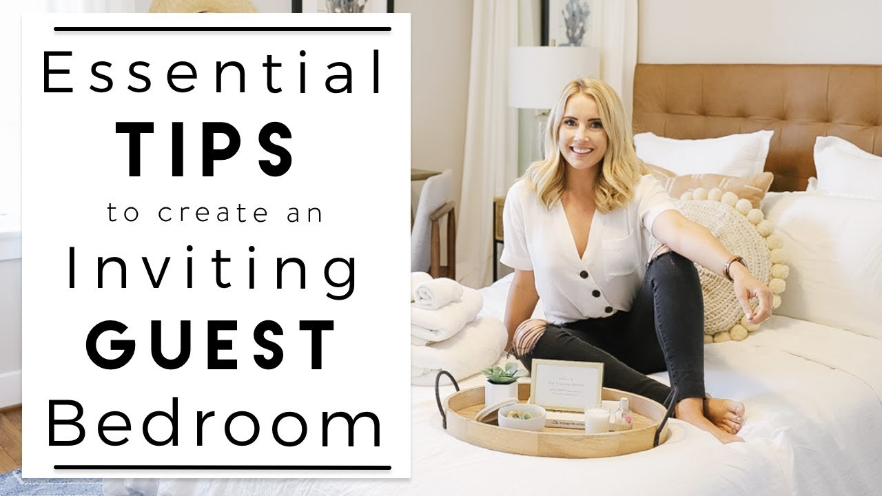 INTERIOR DESIGN | Ideas for How to Create the Perfect Guest Bedroom |