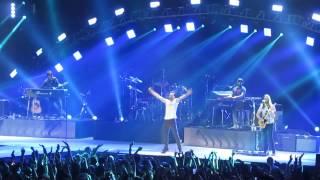 Maroon 5 performing 'Stereo Hearts' London O2 January 11th 2014