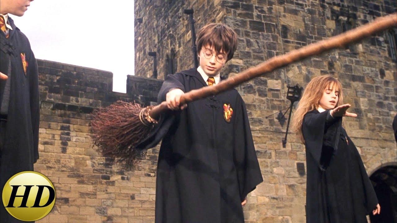 Первый урок полетов. Гарри Поттер и философский камень ...