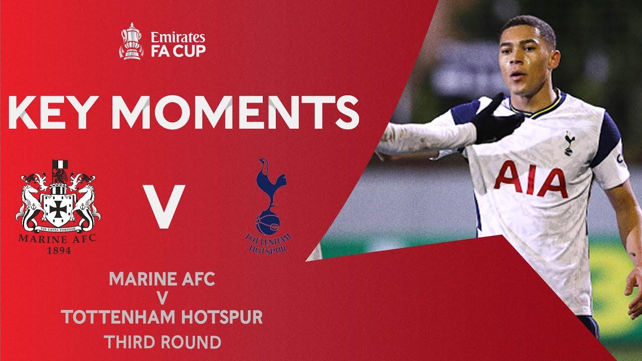 Marine v Tottenham Hotspur | Key Moments | Third Round | Emirates FA Cup 2020-21