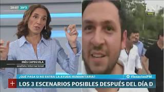 Inés Capdevila: Venezuela, los tres escenarios posibles después del