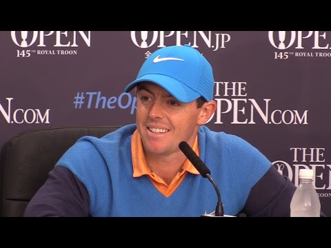 Rory McIlroy Full Press Conference At Royal Troon Golf Club - Golf's Drug-Testing Policy & Olympics