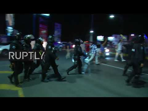 Nicaragua: Violence erupts at social security protest in Managua