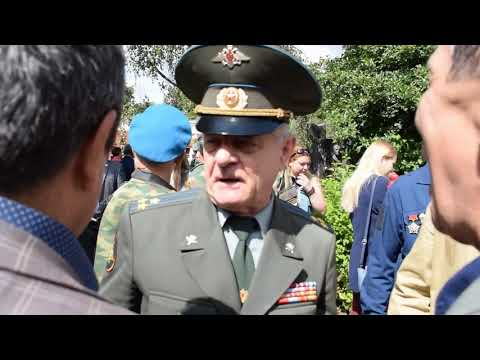 Полковник Квачков в день ВДВ