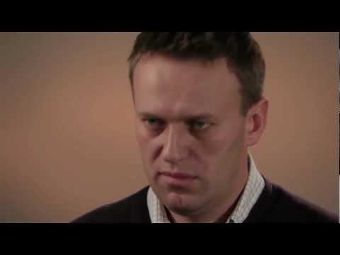 Interview Excerpt: Russian Blogger Alexei Navalny