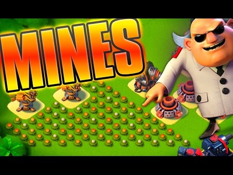 Boom Beach EASY Gearheart Base + New NPC Levels!