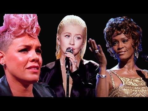 Christina Aguilera Tribute To Whitney Houston | Pink Explains Her Shady Reaction