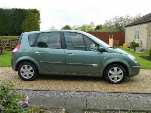 renault scenic 1 6 dynamique 2005 for sale sdsc specialist cars youtube. Black Bedroom Furniture Sets. Home Design Ideas