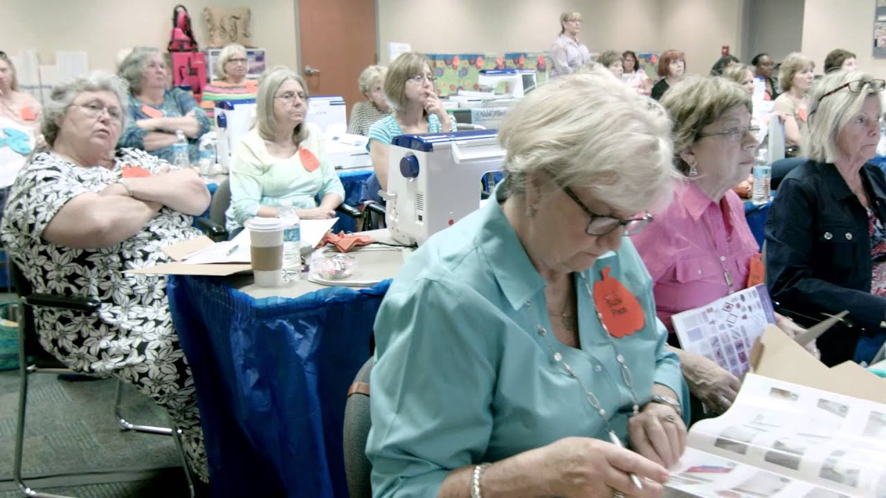 Stitchin\' in the Kitchen Workshops! - YouTube
