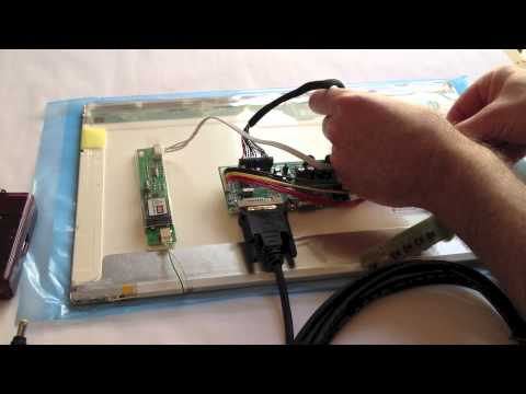 How to Connect Raspberry Pi to a Laptop LCD Panel via LVDS/LCD
