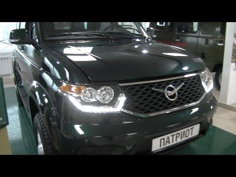 Новый УАЗ Патриот 2015 видео, цена, фото нового UAZ