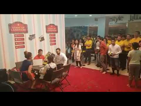Home centre drama  DOHa QATAR