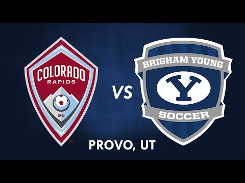 BYU Soccer vs Colorado Rapids 30 June 2017