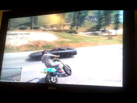 GTA V-who needs gravity when you have swag