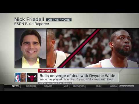 Dwyane Wade Signs with Chicago Bulls