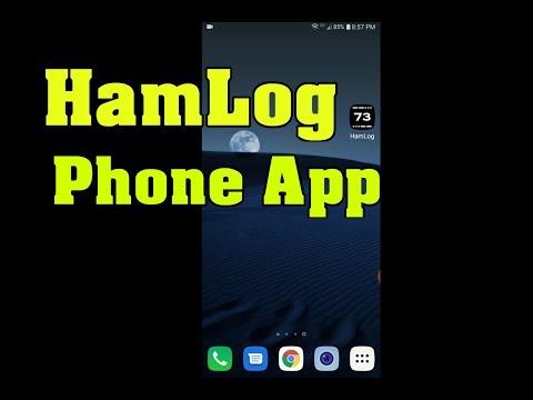 HamLog Phone App ~ Best Ham Radio QSO Logger