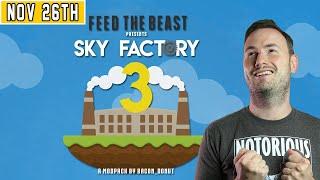 Sips Plays Minecraft: Skyfactory 3 Hardcore - (26/11/20)