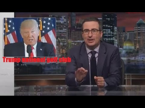 Last Week Tonight with John Oliver - Trump National Golf Club 8/20/17 HBO