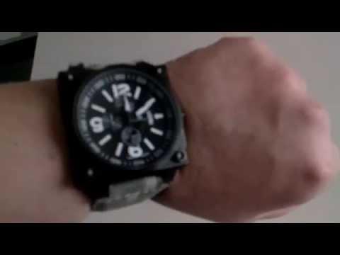Uhr-kraft Hélicop 23403/246 x 46