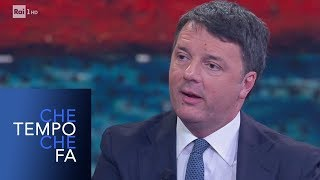 Matteo Renzi sulla situazione politica italiana e l'immigrazione - Che tempo che fa 17/02/2019