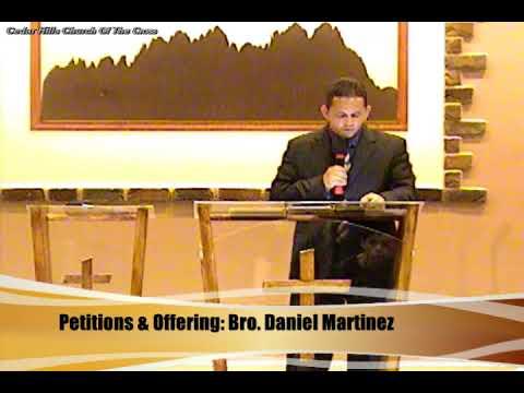 10.04.17 Founding Pastor Thomas Perez |  The Bridge Between the Millennium & The New Jerusalem