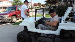 Kenbar Jeep Go Kart Build Pt. 15