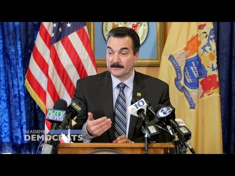 Speaker Prieto Unveils Focus for New Session: Rebuilding New Jersey's Middle Class