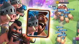 NEW MAXED DOUBLE HOG DECK GAMEPLAY! | Clash Royale ROYAL HOGS & HOG RIDER DECK OP!?