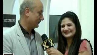 Anupam Kher talks about his upcoming film
