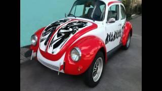 Sabel sa Beetle; Volkswagen Art Car Painted by N.A. Bencab