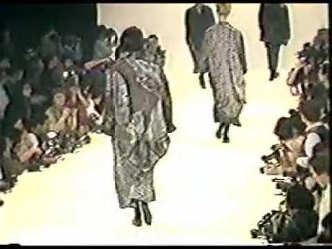 From the Corporate Priestess Archive: Yohji Yamamoto Women's Spring Summer 1985