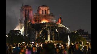 """El Vaticano expresó su """"incredulidad y tristeza"""" por el incendio en la Catedral Notre Dame de París"""