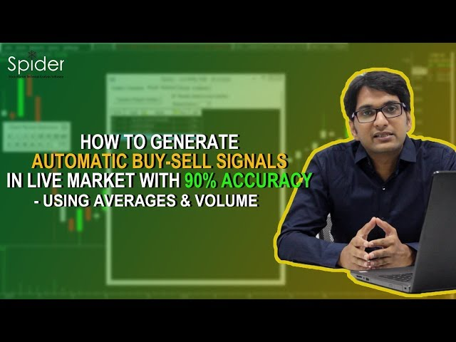 Buy Sell Signals Strategy using Averages in Multiple time frame  with 90% Accuracy