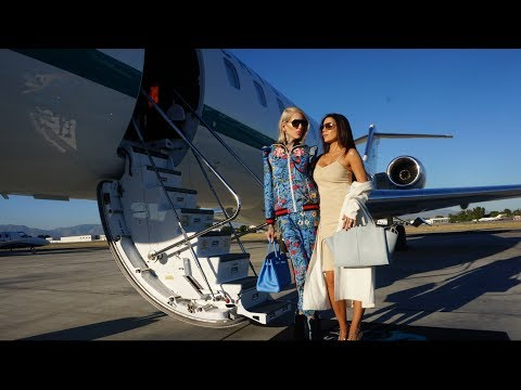 Thumbnail: GET READY IN MY PRIVATE JET feat. Tati Westbrook
