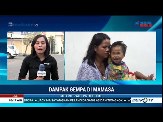 Terjadi Gempa di Mamasa Sulbar, Lima Ribu Warga Mamasa Mengungsi