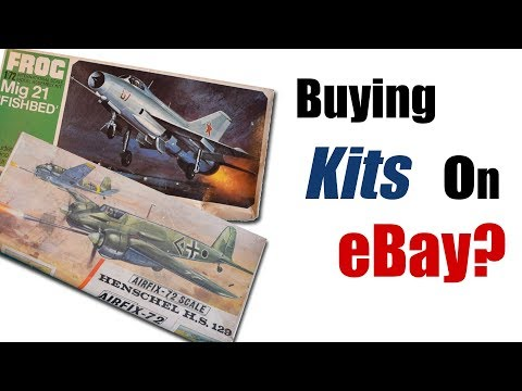 Should You Buy Plastic Scale Model Kits on eBay?