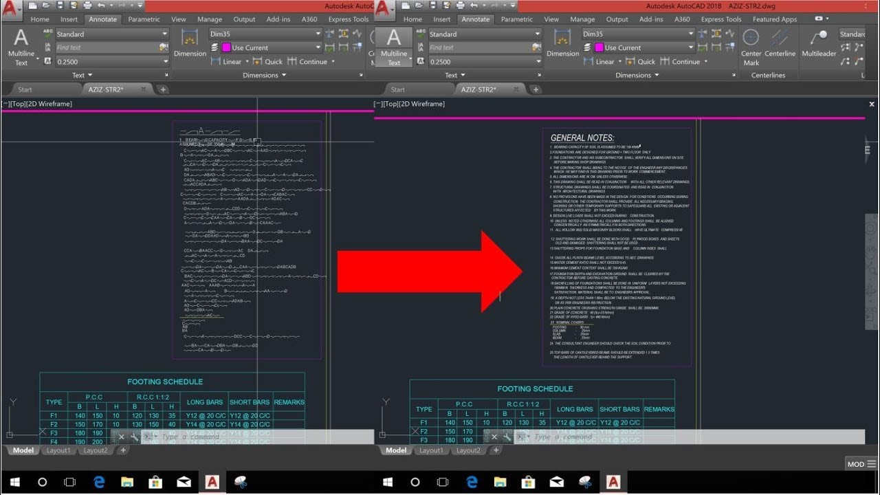 SOLVE MISSING TEXT STYLE PROBLEM IN AUTOCAD