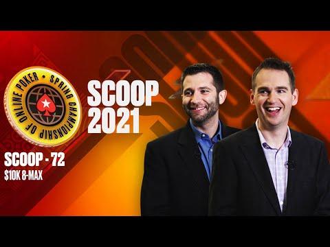 SCOOP-72-H - $10K 8-MAX ♠️ SCOOP 2021 ♠️ PokerStars