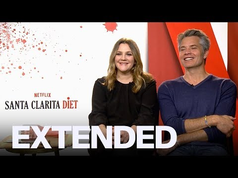Drew Barrymore, Timothy Olyphant 'Santa Clarita Diet' Interview | EXTENDED