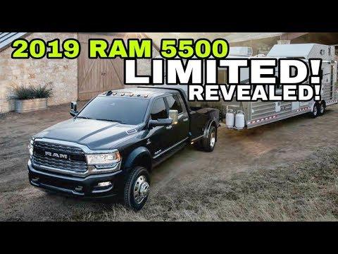 2019 RAM 4500/5500 LIMITED reveal! Dream truck come true?