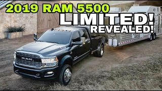 2019 RAM 4500/5500 LIMITED reveal! Dream truck come true?