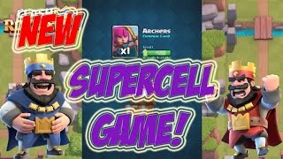 NEW SUPERCELL GAME! | CLASH ROYALE | '' HD GAMEPLAY '' BABY DRAGON FROM CHEST