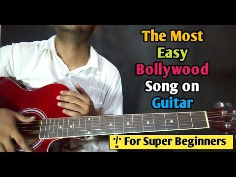 Mera Mann - Most Easy Bollywood song Guitar Lesson - Ayushman khurana - Beginners Guitar Tutorial