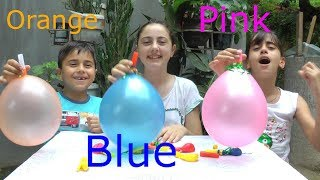 Learn Singer 🎈Balloons🎈 Colors With Finger Family Songs
