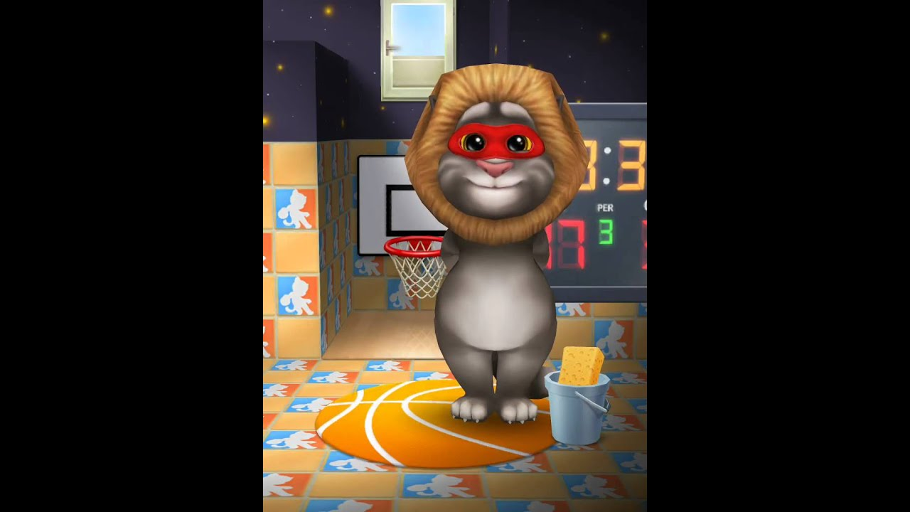 [My Talking Tom] Looking Tom have a Sporty house!!