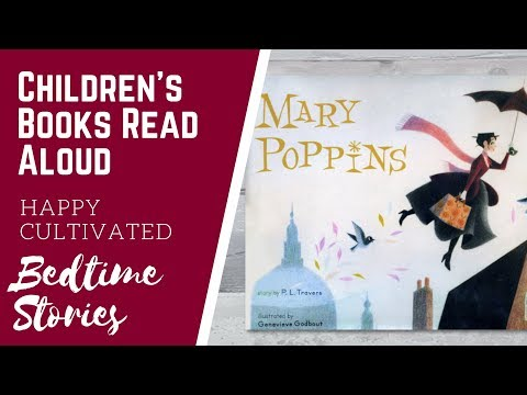 MARY POPPINS Story Read Aloud | Disney Book Read Aloud | Children's Books Read Aloud