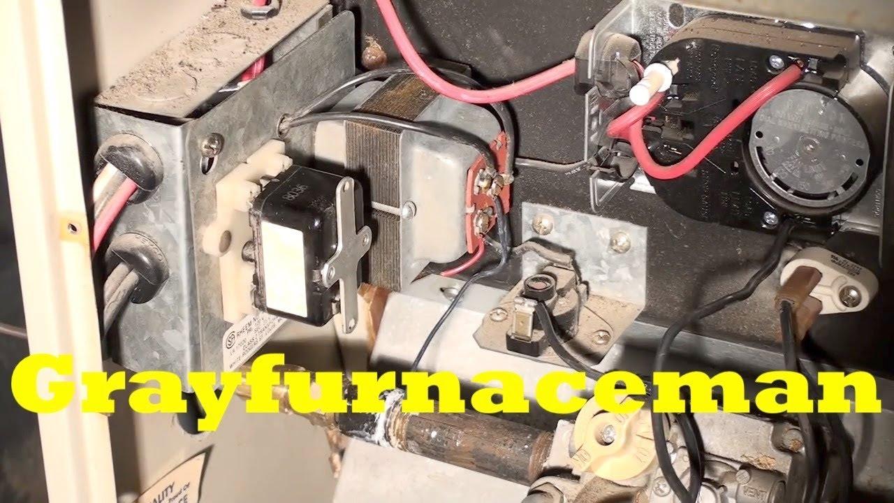 Furnace Blower Relay Wiring  Electric Furnace Relay, Furnace