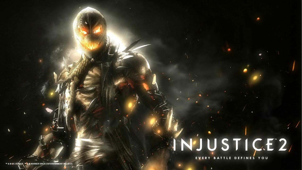 Injustice 2 Scarecrow Wallpaper Engine